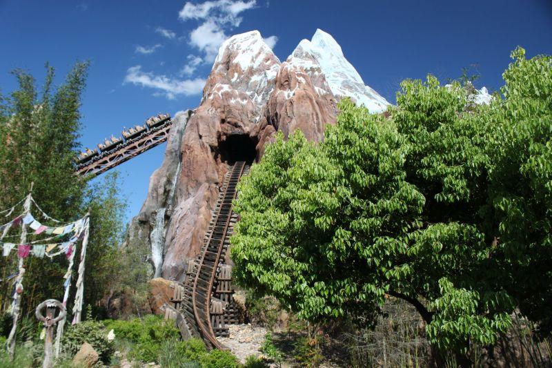 Orlando também é a casa do Animal Kingdom, um dos quatro parques temáticos da Disney World. A montanha-russa Expedition to Everest (foto) é imperdível - Divulgação - Divulgação/Rota de Férias/ND