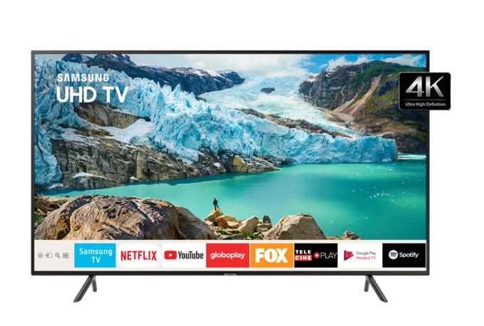 4 TVs 4K Ultra HD Samsung de 55 polegadas - Foto: Divulgação/33Giga/ND