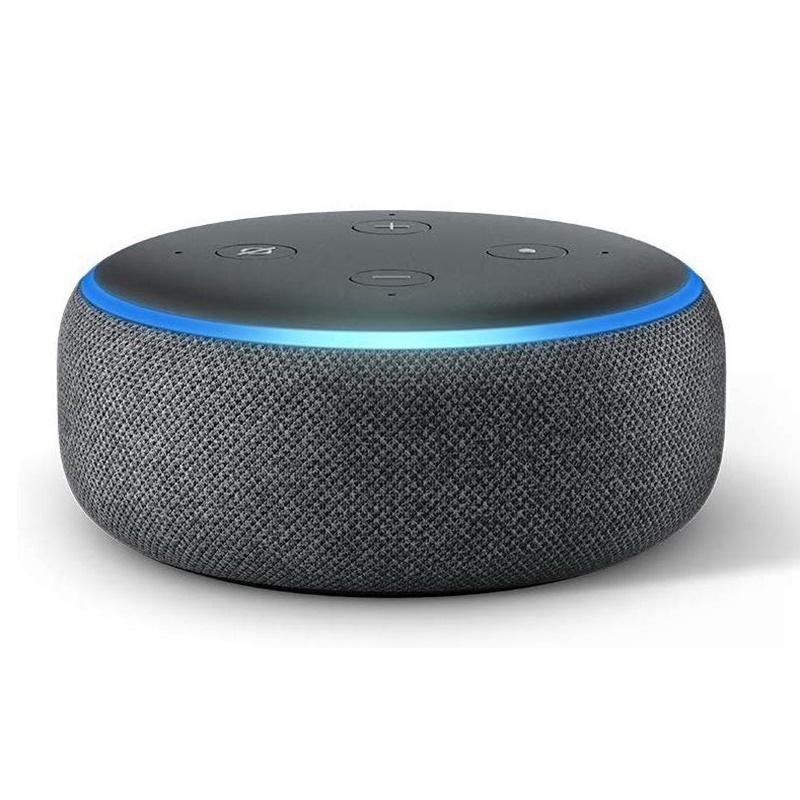 Echo Dot (3º geração) - disponível nas cores branca, cinza e preta por R$ 349 - Divulgação /33Giga/ND