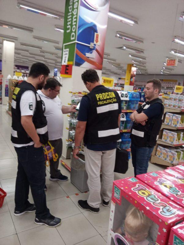 Operação Brinquedo foi realizada em Florianópolis – Foto: PMF/Divulgação