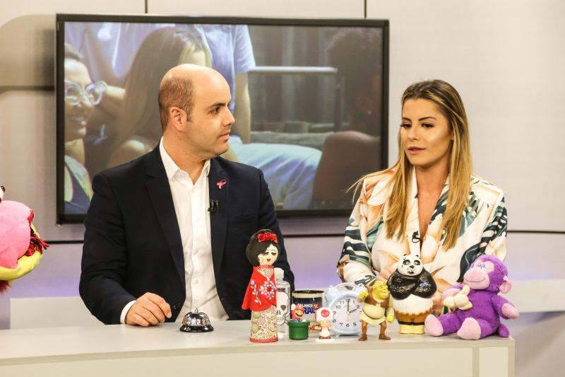 Aricia Silva representou Santa Catarina em A Fazenda e deu entrevista para A Hora da Venenosa - Anderson Coelho/ND