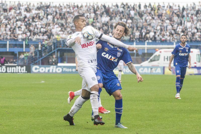 Avaí x Figueirense, em clássico pela Série B 2018. O último válido por uma competição nacional - Marco Santiago/ND