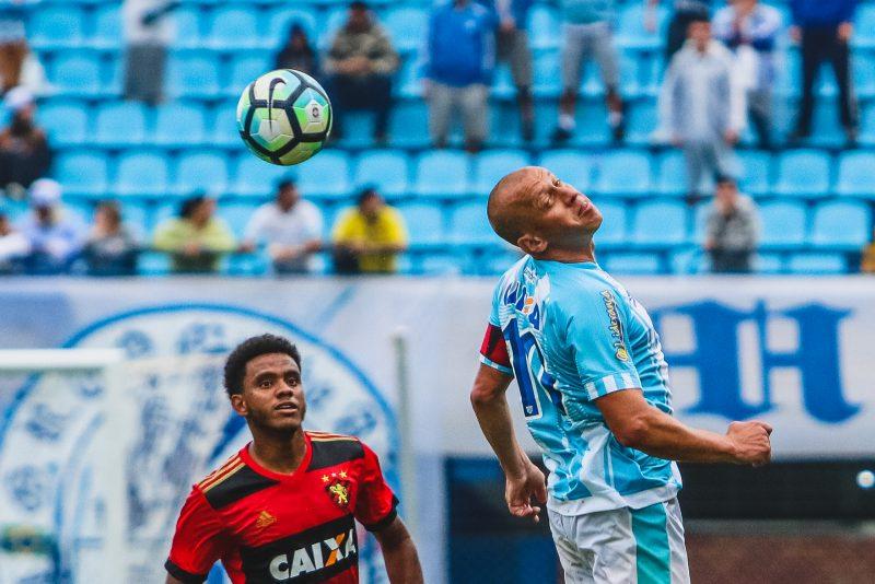 Marquinhos Santos em mais uma Série A, disputada com a camiseta do Leão - Daniel Queiroz/ND/ND