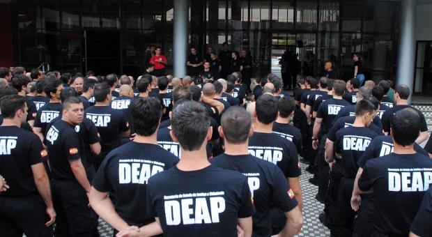 Concurso de agente penitenciário em SC será aberto em outubro – Foto: Divulgação/ND