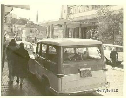 A rua Tenente Silveira e o prédio das Diretorias nos anos de 1960 - Coleção ELS/Divulgação/ND