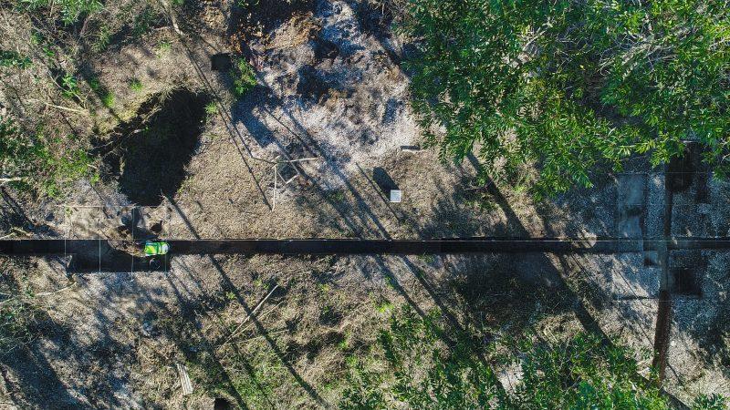 Ilhota teria sido um refúgio para eventos ritualísticos, contexto evidenciado pelas condições do sepultamento de um membro do grupo que viveu há aproximadamente 5.880 anos - Espaço Arqueologia/Divulgação/ND