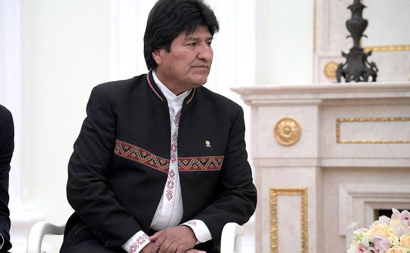 Então presidente da Bolívia, Evo foi acusado de fraude nas eleições recentes – Foto: Governo da Rússia/Divulgação/ND