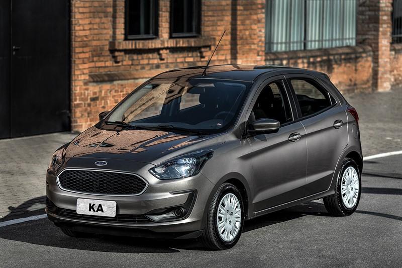 Ford Ka SE 1.5 automático: - R$ 57.890 - Foto: Divulgação - Foto: Divulgação/Garagem 360/ND