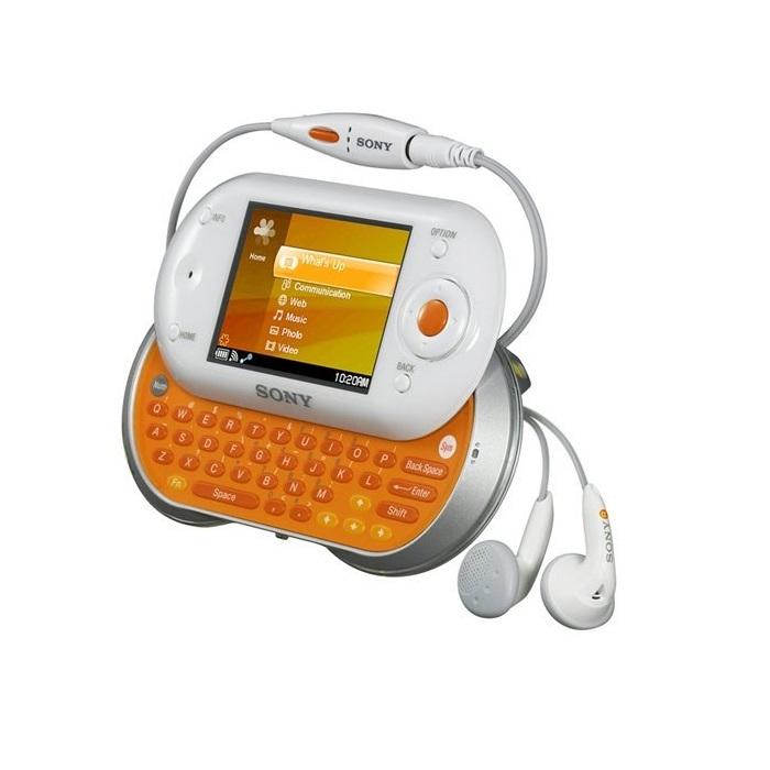 Sony Mylo (2006) – O maior diferencial deste modelo era que ele vinha com Opera, Gtalk, Yahoo Messenger e Skype já instalados de fábrica. A sua tela de 2,4 polegadas, porém, não contribuíam para seu bom desempenho. Também tinha 1 GB de memória interna e conexão Wi-Fi. - Crédito: Divulgação/33Giga/ND