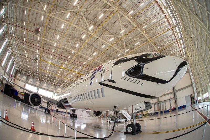 Latam Latam transforma avião em Stormtrooper - Foto: Divulgação - Foto: Divulgação/Garagem 360/ND