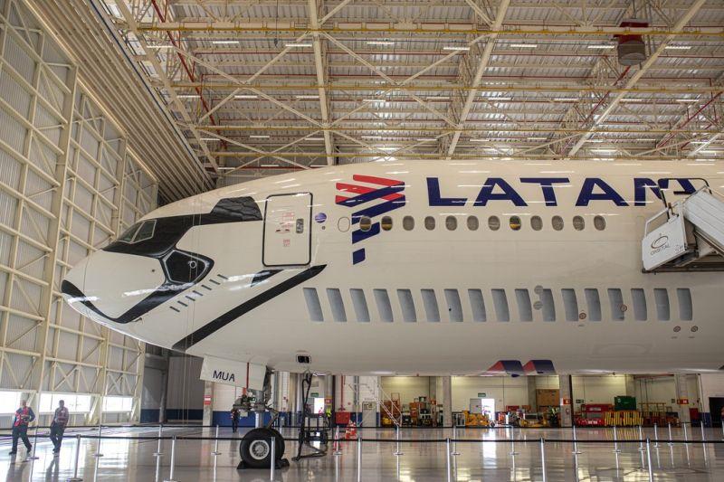Latam transforma Boeing 777 em Stormtrooper - Foto: Divulgação - Foto: Divulgação/Garagem 360/ND