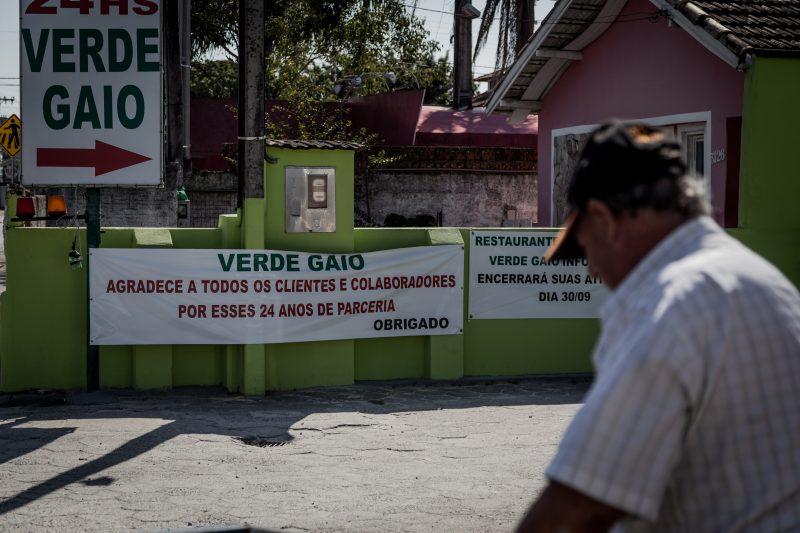 O estacionamento e restaurante funcionavam há mais de 24 anos. - Anderson Coelho/ND