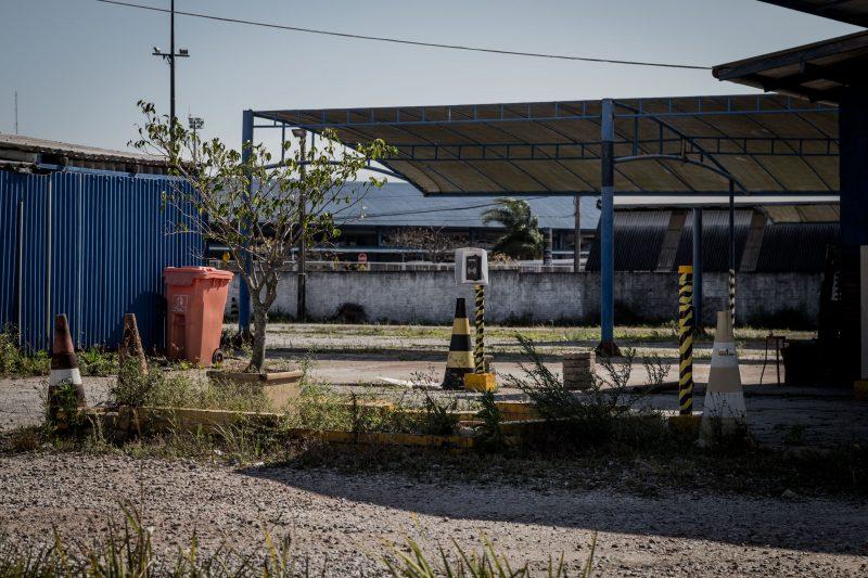 Com a queda no movimento e a distância de oito quilômetros do novo terminal, ficou inviável fazer o translado dos passageiros sem elevar a tarifa das diárias. - Anderson Coelho/ND