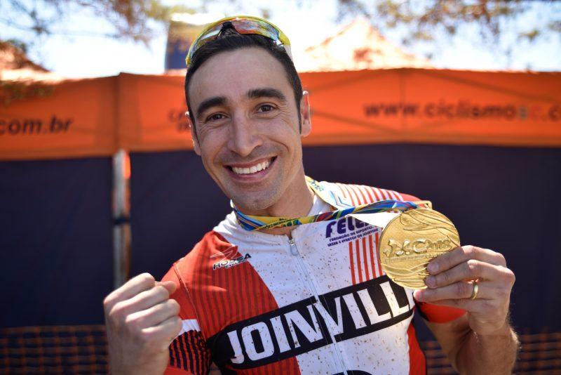 Ricardo Pscheidt, de Joinville, venceu a prova de marathon em 2018. Foto Fom Conradi – Acervo Fesporte.jpg – Foto: Fom Conradi / Acervo Fesporte