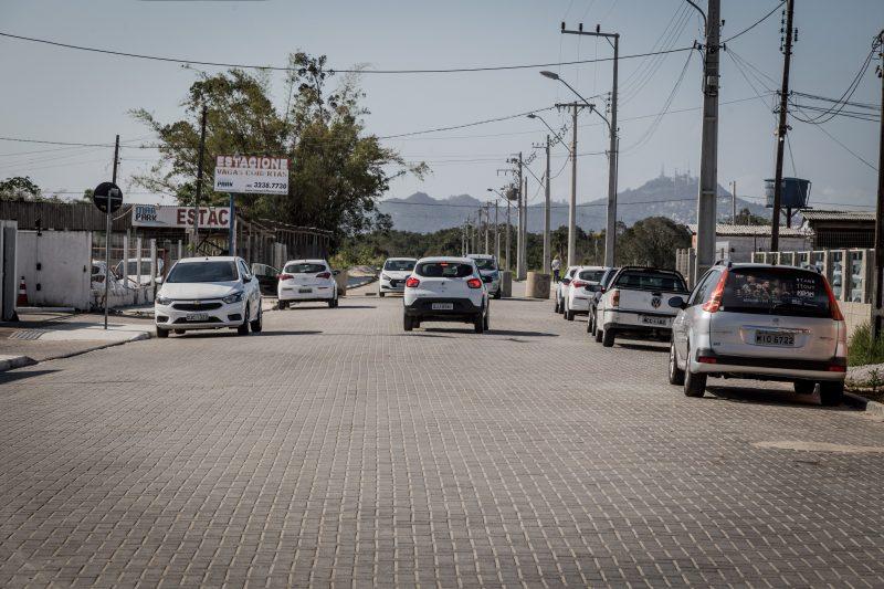 Rua nas proximidades do aeroporto, no decorrer do dia ficava movimentada de motoristas de aplicativos a espera de passageiros - Anderson Coelho/ND