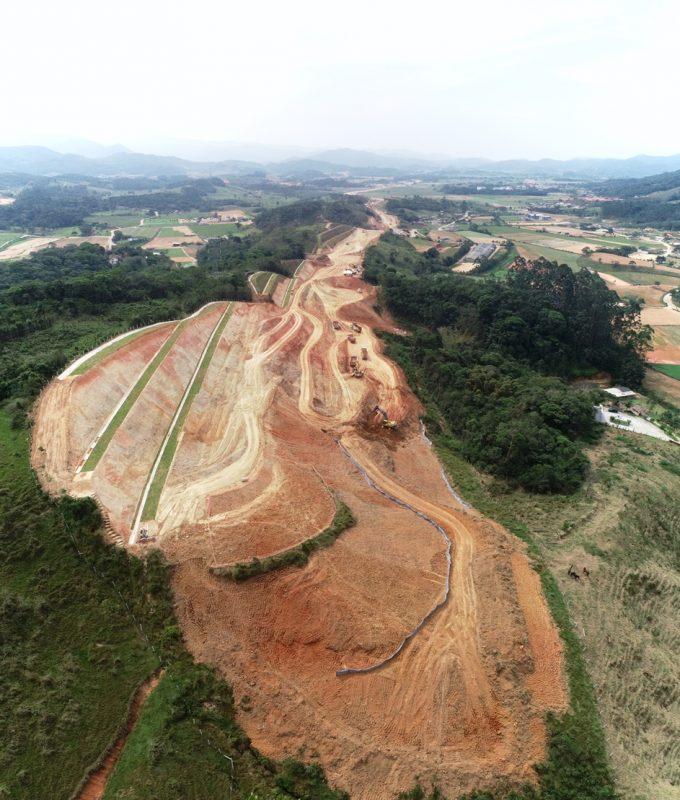 Trecho intermediário entre São José e Biguaçu – Foto: Divulgação/ND