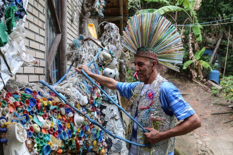 O manezinho é referência da arte popular e da cultura regional da Capital – Foto: Anderson Coelho/ND