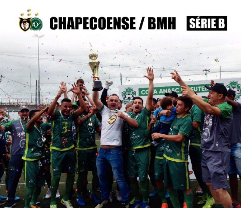 Chapecoense/BMH conquista o título da Série B – Foto: Reprodução/ND