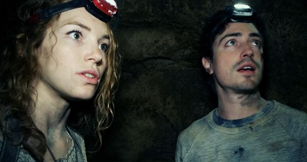 Assim na Terra como no Inferno – Terror honesto que conta a história de uns exploradores enfiados nos subterrâneos de Paris. - Foto: Divulgação/33Giga/ND
