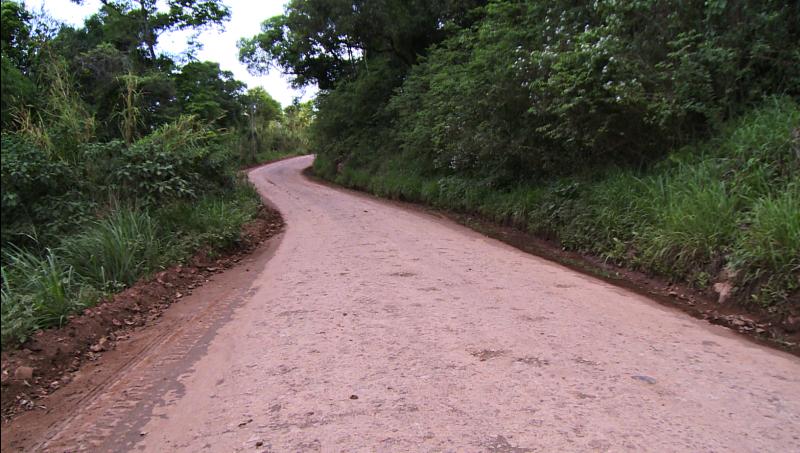 Estrada é o acesso mais rápido a Chapecó – Foto: RICTV/ND