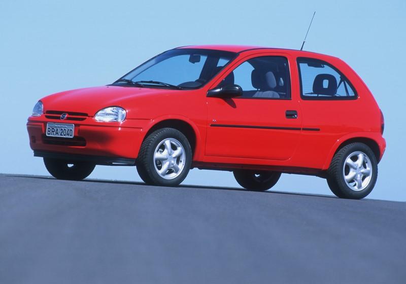 Chevrolet Corsa 1.4 2p 1994/1995 - R$ 8.490 - Foto: Divulgação - Foto: Divulgação/Garagem 360/ND