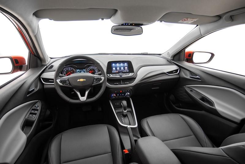 Chevrolet Onix Turbo - R$ 55.590 - Foto: Divulgação - Foto: Divulgação/Garagem 360/ND