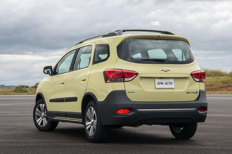 Chevrolet Spin Activ7 2018/2019 - R$ 78.890 - Foto: Divulgação - Foto: Divulgação/Garagem 360/ND