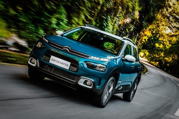 Citroën C4 Cactus - Foto: Divulgação - Foto: Divulgação/Garagem 360/ND