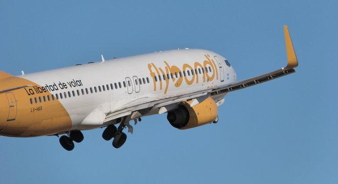 Empresa começa a operar com voos no Rio de Janeir – Foto: Divulgação/Flybondi/ND