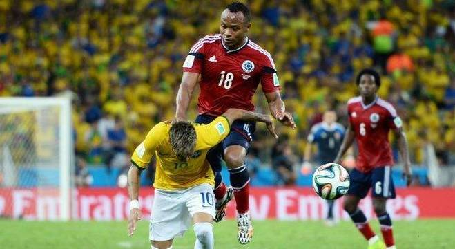 Copa do Mundo de 2014: Neymar se lesiona e fica fora da semifinal da competição. O Brasil foi massacrado pela Alemanha no histórico 7 a 1. - R7/Getty Images