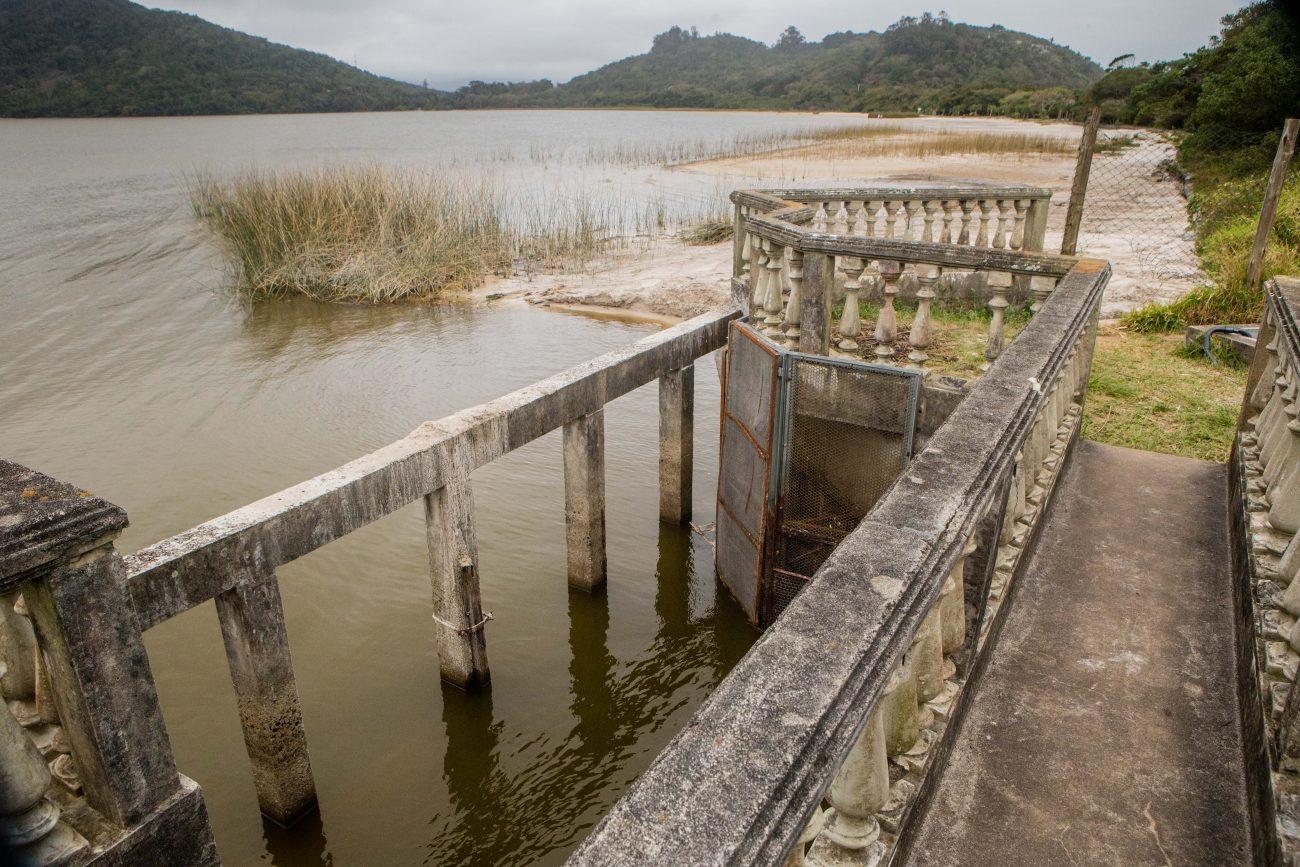 O visitante que chega ao Parque Municipal da Lagoa do Peri se depara com uma grande área assoreada, que antes estava submersa pela lâmina de água - Flavio Tin/ND
