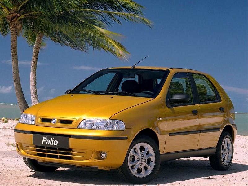 Em 2001, a reestilização do Palio foi lançada junto com o tom Amarelo Ímola - Foto: Divulgação - Foto: Divulgação/Garagem 360/ND