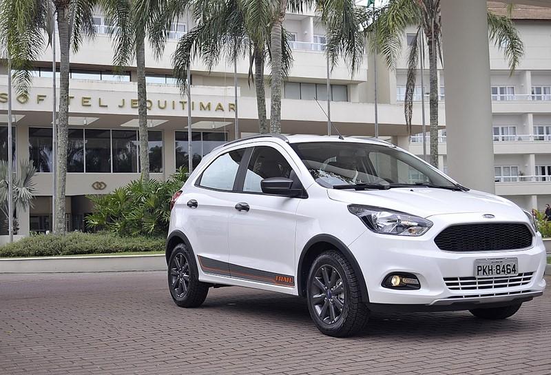 Ford Fiesta Trail 1.0 12V - desvalorização no primeiro ano de 7,4% - Foto: Divulgação - Foto: Divulgação/Garagem 360/ND