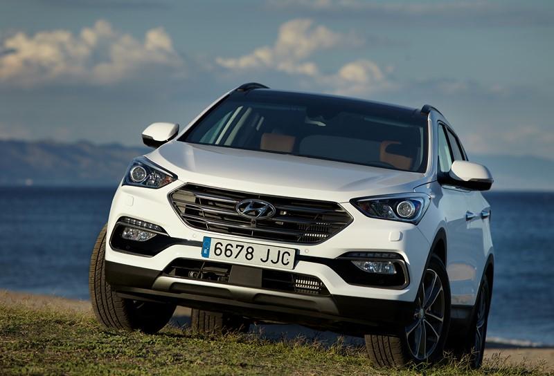 Hyundai Santa Fé 3.3 V6 2018/2019 - R$ 145 mil: por coincidência, é possível comprar um modelo da geração anterior do SUV - Foto: Divulgação - Foto: Divulgação/Garagem 360/ND