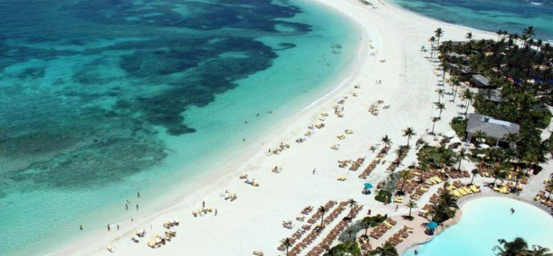 Ilha de Nassau faz parte das Bahamas e é o principal centro comercial do país insular. O local tem boa infraestrutura hoteleira, de serviços, além de belas praias - Divulgação - Divulgação/Rota de Férias/ND