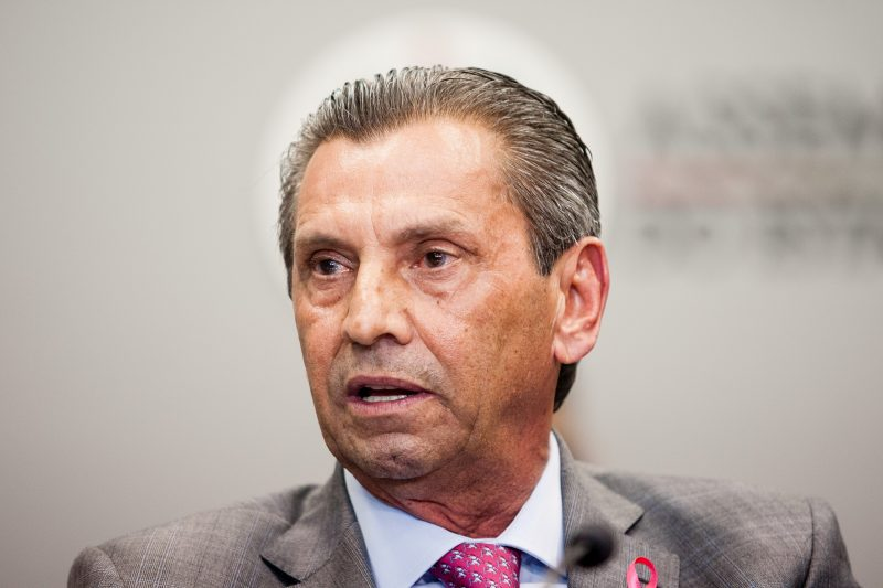Presidente da Alesc, deputado estadual Julio Garcia está cumprindo prisão domiciliar – Foto: Flávio Tin/ND