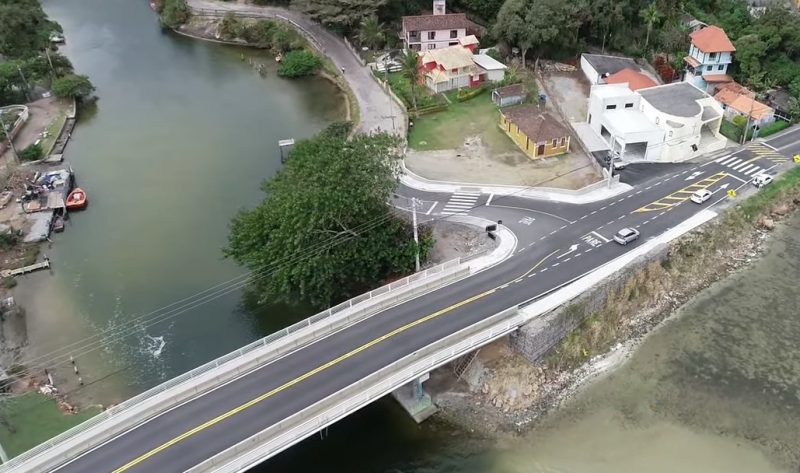 Ponte da Barra da Lagoa, em Florianópolis – Foto: Divulgação;/ND