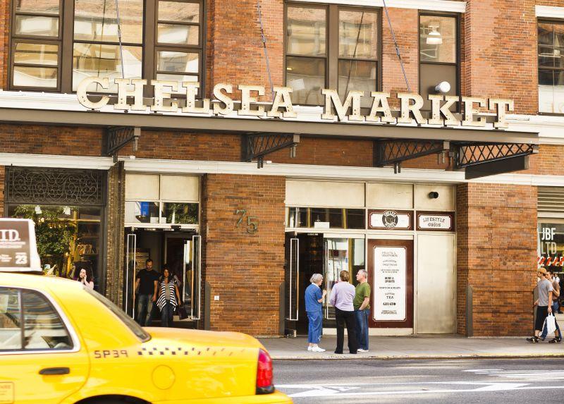 O Chelsea Market, em Nova York, nos EUA, é ideal para quem gosta de produtos gourmet. Também dá para comprar alimentos orgânicos e provar comidinhas de vários países - Shutterstock.com - Shutterstock.com/Rota de Férias/ND