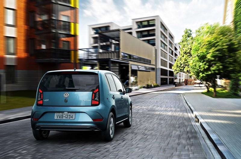 Volkswagen Up High 1.0 TSI 12V - desvalorização no primeiro ano de 6,4% - Foto: Divulgação - Foto: Divulgação/Garagem 360/ND