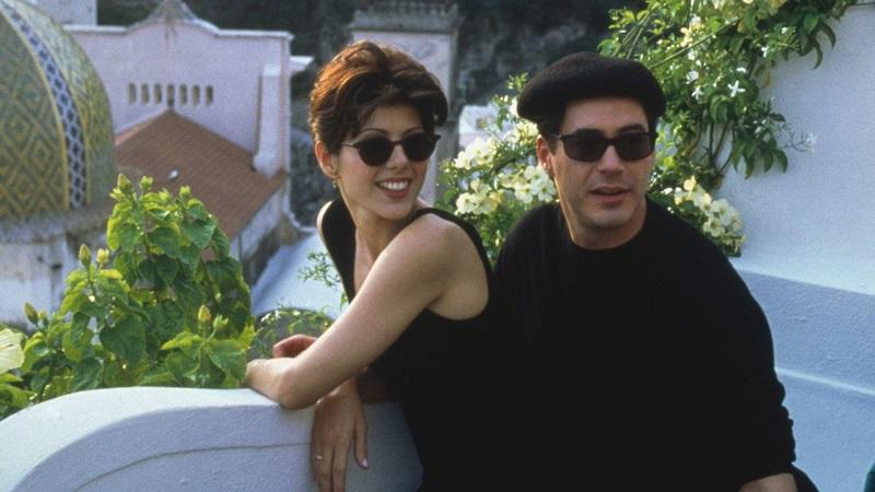 01/11 – Só Você (1994): Às vésperas de seu casamento, Faith decide ir à Itália para tentar encontrar sua suposta alma gêmea. - Crédito: Divulgação/33Giga/ND