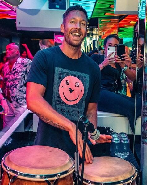 16. Calvin Harris – 5,5 bilhões de streams - Crédito: Reprodução Instagram/33Giga/ND