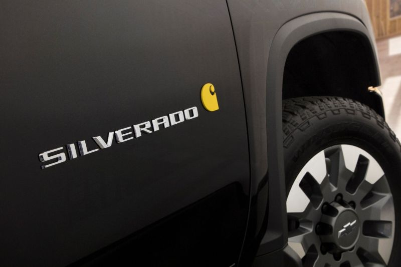 Chevrolet Silverado HD Carhartt Special Edition - Foto: Divulgação - Foto: Divulgação/Garagem 360/ND