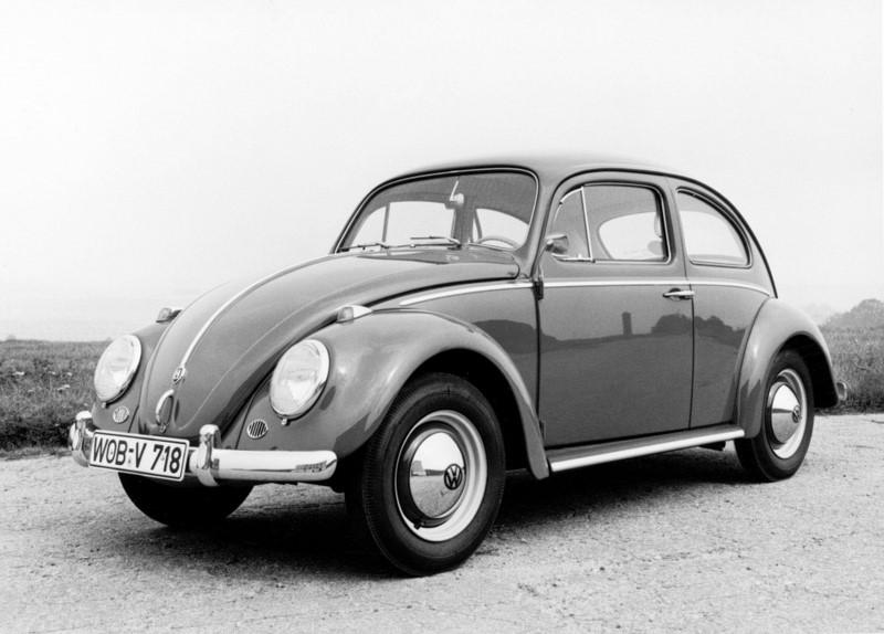 VW Fusca (1959* a 1986/ 1993 - 1996): *montado no Brasil desde 1957 - Foto: Divulgação - Foto: Divulgação/Garagem 360/ND