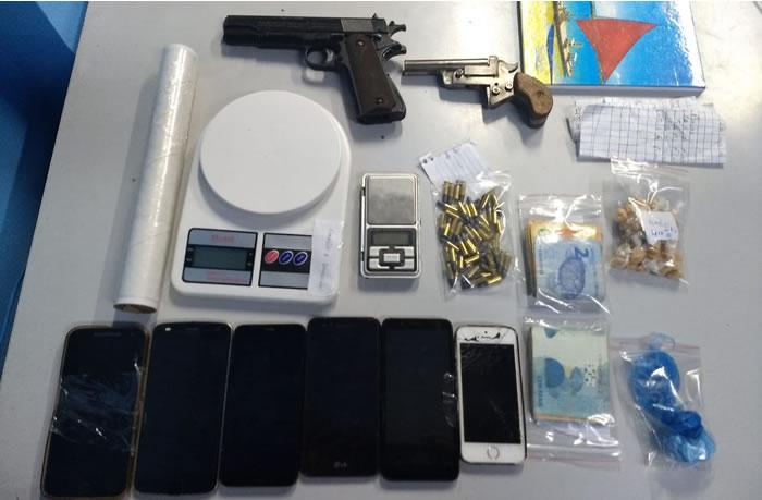 Quadrilha é presa por tráfico de drogas em Guaramirim - ND Mais - Notícias