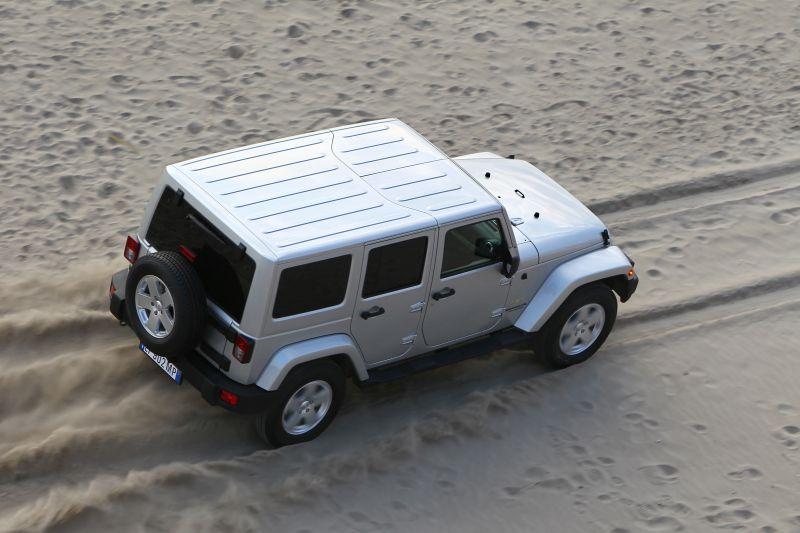 Jeep Wrangler Unlimited - Foto: Divulgação - Foto: Divulgação/Garagem 360/ND