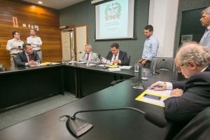A reunião da Comissão de Turismo e Meio Ambiente ocorreu nesta terça-feira (12) – Foto: Alesc/Divulgação/ND