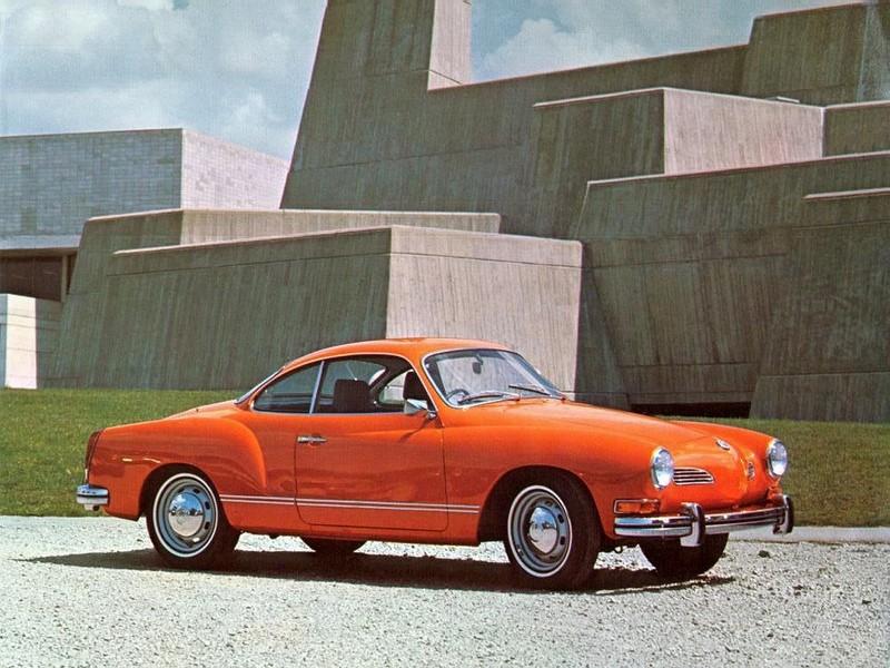 VW Karmann-Ghia (1962 a 1971) - Foto: Divulgação - Foto: Divulgação/Garagem 360/ND