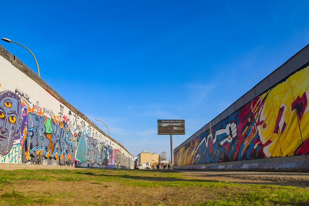 East Side Gallery - dronepicr on VisualHunt / CC BY - dronepicr on VisualHunt / CC BY/Rota de Férias/ND