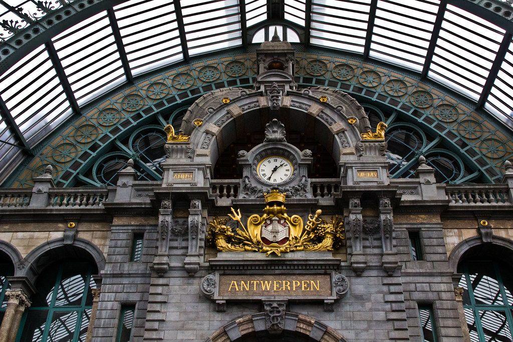 Estação Central da Antuérpia, Bélgica - saigneurdeguerre on VisualHunt.com / CC BY-NC-SA - saigneurdeguerre on VisualHunt.com / CC BY-NC-SA/Rota de Férias/ND