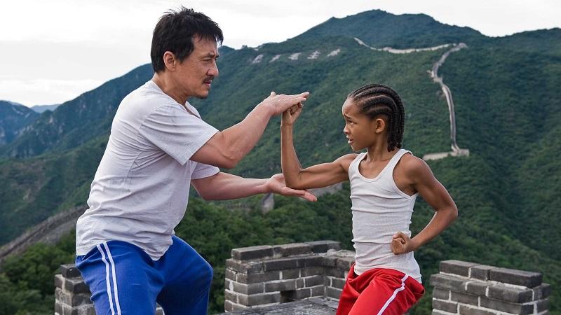 01/11 – Karate Kid (2010): Ao mudar-se para Pequim com sua mãe, Dre precisa enfrentar um verdadeiro bully na escola e procura um mestre em artes marciais. É uma adaptação do clássico de 1984. - Crédito: Divulgação/33Giga/ND